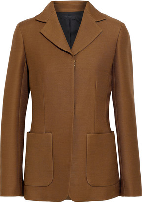 The Row Perse Wool And Silk-blend Cady Jacket