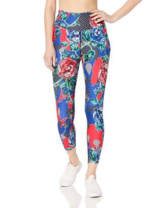 Betsey Johnson Women's Floral Vine 7/8 Legging Small