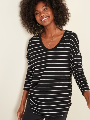 Old Navy Loose Luxe Slub-Knit Tunic Tee for Women