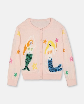 Stella McCartney mermaids knit cardigan