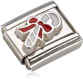 Nomination Composable Women's Charm Stainless Steel Enamel-Candy Cane 330204 / 07