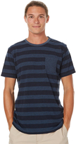 Katin Ladder Mens Knit Tee Blue