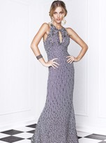 Baccio Couture - Lidia - 919 Painted Long Dress