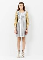 Junya Watanabe silver l/s shift dress