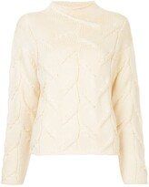 Chanel Pre Owned fisherman knit jumper