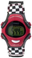 Coleman Kid's Digital Sportwrap Watch - Red/Black Racing Print