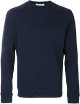 MSGM back logo print sweatshirt