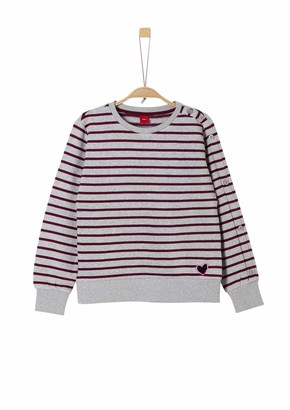 S'Oliver Girls' 66.909.41.2438 Sweatshirt