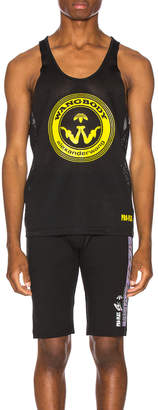 Alexander Wang Adidas By adidas by Graphic Tank Tee in Black | FWRD