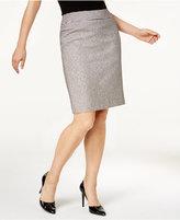 Nine West Tweed Pencil Skirt