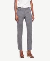 Ann Taylor Devin Geo Jacquard Cropped Pants