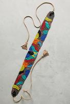 Anthropologie Primary Colors Beaded Belt