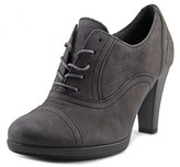 Gabor 35.222 Women Round Toe Leather Gray Heels.