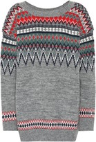 Junya Watanabe Fair Isle wool-blend sweater