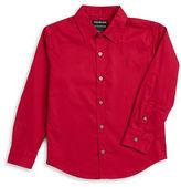 Calvin Klein Jeans Boys 8-20 Muted Grid Sportshirt