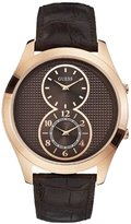 GUESS GUESS? R.GUESS CAB. PVD.DOBLE HORARIO ESF.M. Men's watches W0376G3