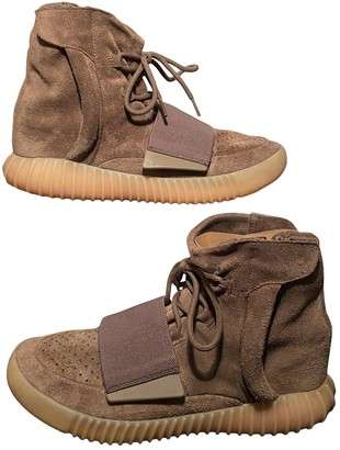 Yeezy Boost 750 Brown Suede Trainers