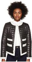 Kate Spade 22 Quilted Contrast Binding Jacket Women's Coat