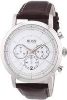 HUGO BOSS Men's 1512871 Leather Quartz Watch