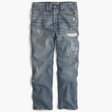 J.Crew Point Sur relaxed boyfriend jean with distressing