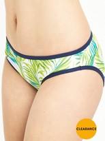 Cleo by Panache Avril Classic Bikini Pant - Palm Print