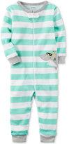 Carter's 1-Pc. Striped Shark Pajamas, Baby Boys (0-24 Months)