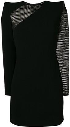 DSQUARED2 mesh panels mini dress