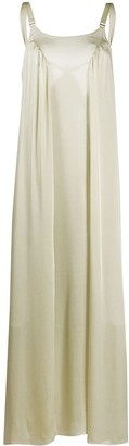Bordelle satin Fawn maxi dress