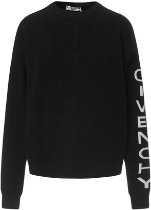 Givenchy Cut Out Sleeve Logo