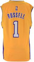 adidas D'Angelo Russell Los Angeles Lakers Revolution 30 Jersey, Big Boys (8-20), Big Boys (8-20)