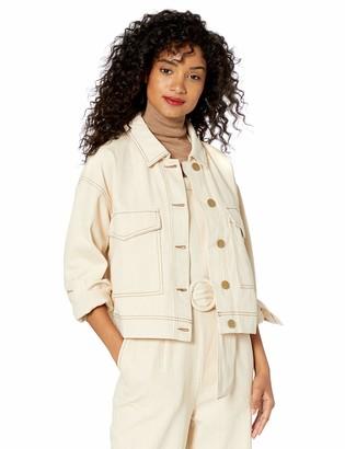Moon River Women's Lightweight Utility Style Jacket
