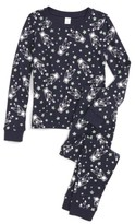 Tucker + Tate Toddler Boy's Glow In The Dark Two-Piece Fitted Pajamas