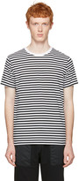 Nanamica Black Striped T-shirt