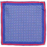Canali diamond flower pocket square