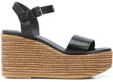 Brunello Cucinelli wedge heel sandals