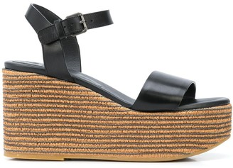 Brunello Cucinelli Wedge Heel Sandals