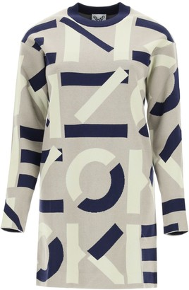 Kenzo Sport Monogram Mini Dress