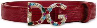 Dolce & Gabbana Bejeweled buckle belt