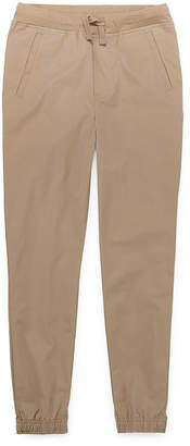 Izod Exclusive Boys Cinched Jogger Pant - Big Kid