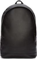 Pb 0110 Black Leather Backpack