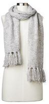 Gap Marled fringe scarf