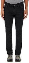 John Varvatos Men's Slim Moto Jeans-NAVY, BLACK