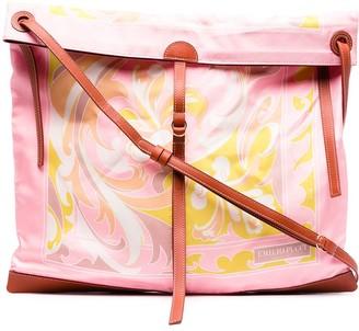 Emilio Pucci Baroque-Print Shoulder Bag