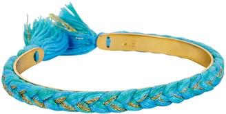 Aurelie Bidermann Copacabana Braided Cuff Bracelet