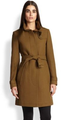 Burberry Rushworth Belted Coat