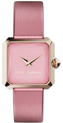 Dolce & Gabbana Sofia square-face 24mm watch