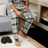 The White Company Flannel Check Pyjama Bottoms