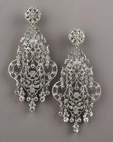Jose & Maria Barrera Crystal Chandelier Earrings
