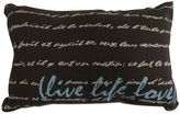 """B. Smith The Vintage House by Park Live Life Love"""" Tapestry Oblong Throw Pillow"""