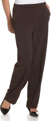 Briggs New York Women's Pull On Dress Pant Average Length & Short Length